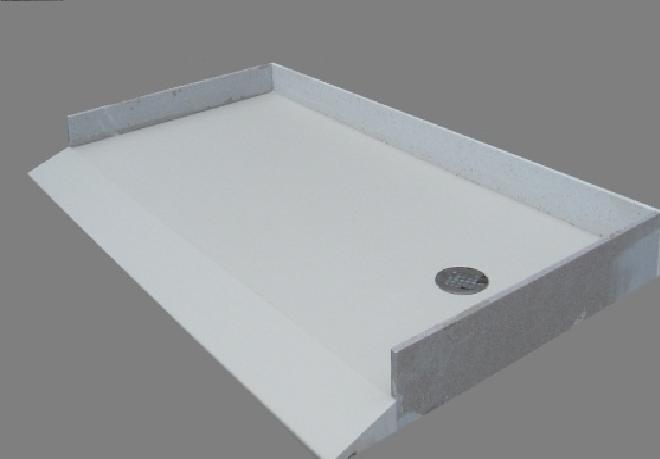 ROMANITE Solid Surface Shower Pans Are Leak Proof Due To Their Unitary  Construction Including Integral And Wall Flanges And Threshold.