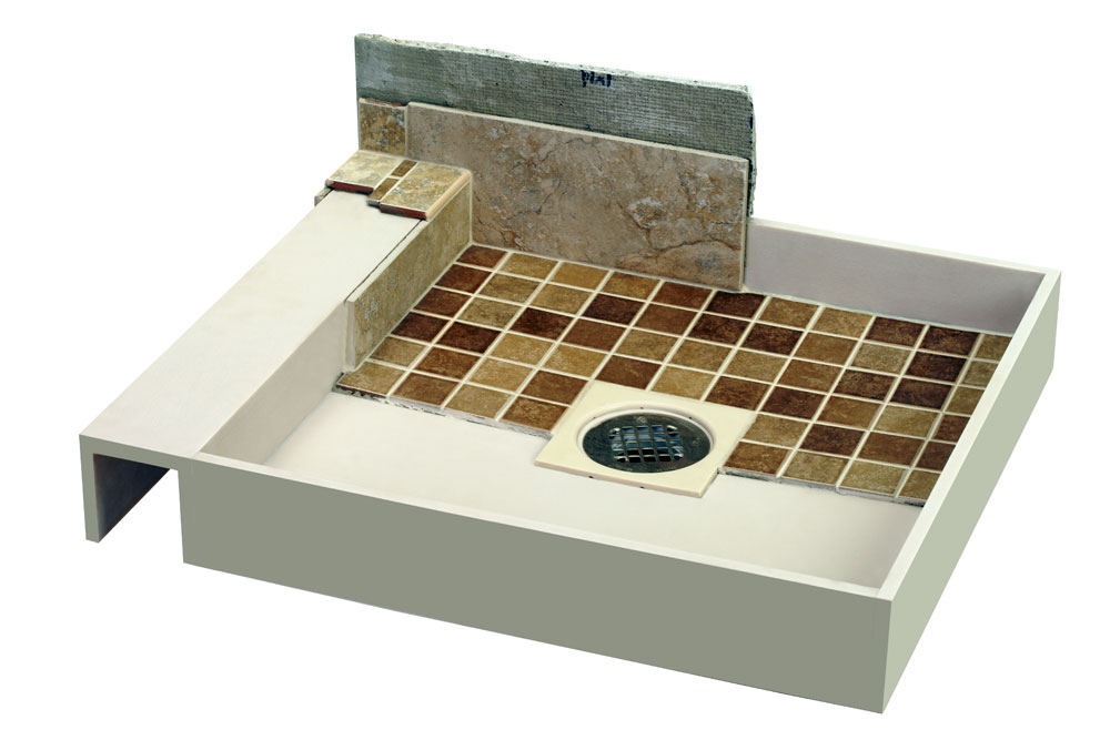 Ordinaire Ready Made Tile Pan Is A Ready To Tile Shower Pan
